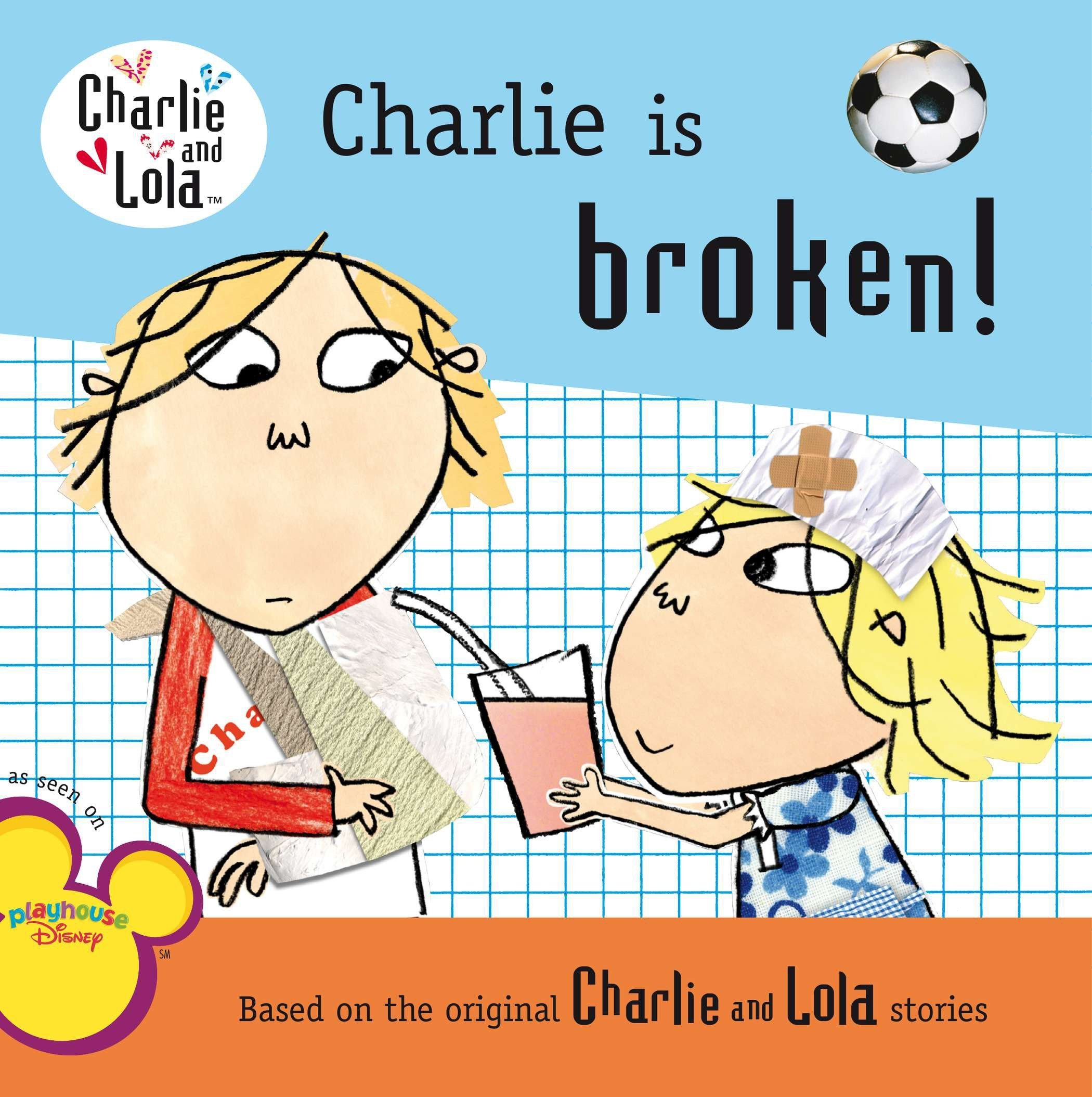 Charlie is Broken! (and Other Kids Books)
