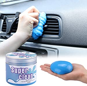 JUSTTOP Universal Cleaning Gel for Car, Detailing Putty Gel Detail Tools Car Interior Cleaner Laptop Cleaner