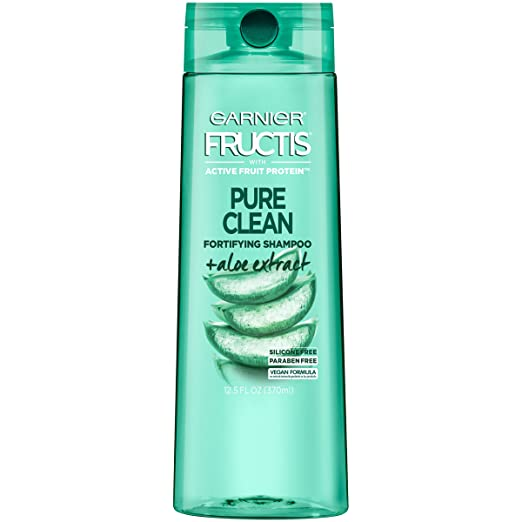Garnier Hair Care Fructis Pure Clean Shampoo, 12.5 Fluid Ounce, 3 Count
