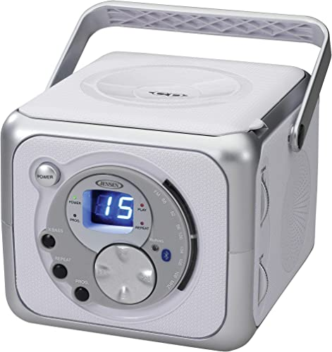Jensen CD-555 CD Portable Bluetooth Music System with CD Player