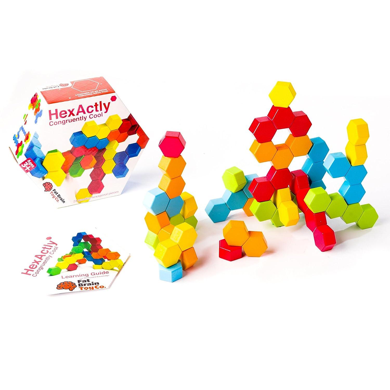 Amazon Fat Brain Toys Hexactly Toys & Games