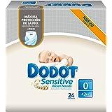 Dodot Sensitive - Pañales para bebé, talla 0 - 1 paquete de 24 pañales