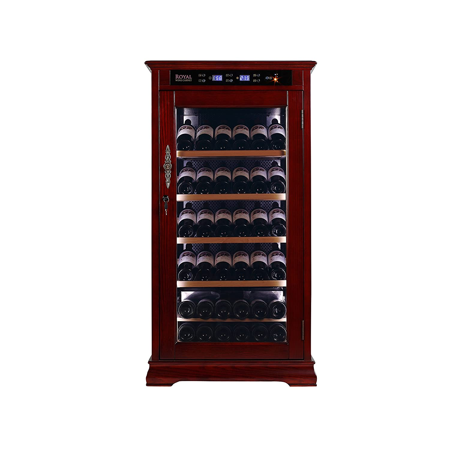 Cabinet With Wine Cooler Amazoncom Royal Cave Constant Temperature Wine Cellar Cabinet