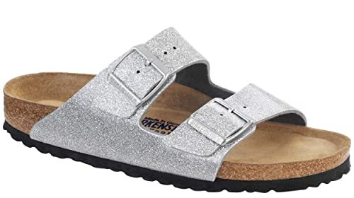 a162fc89252 Image Unavailable. Image not available for. Colour  Birkenstock Arizona  Cork Footbed Sandal (Toddler Little Kid Big ...