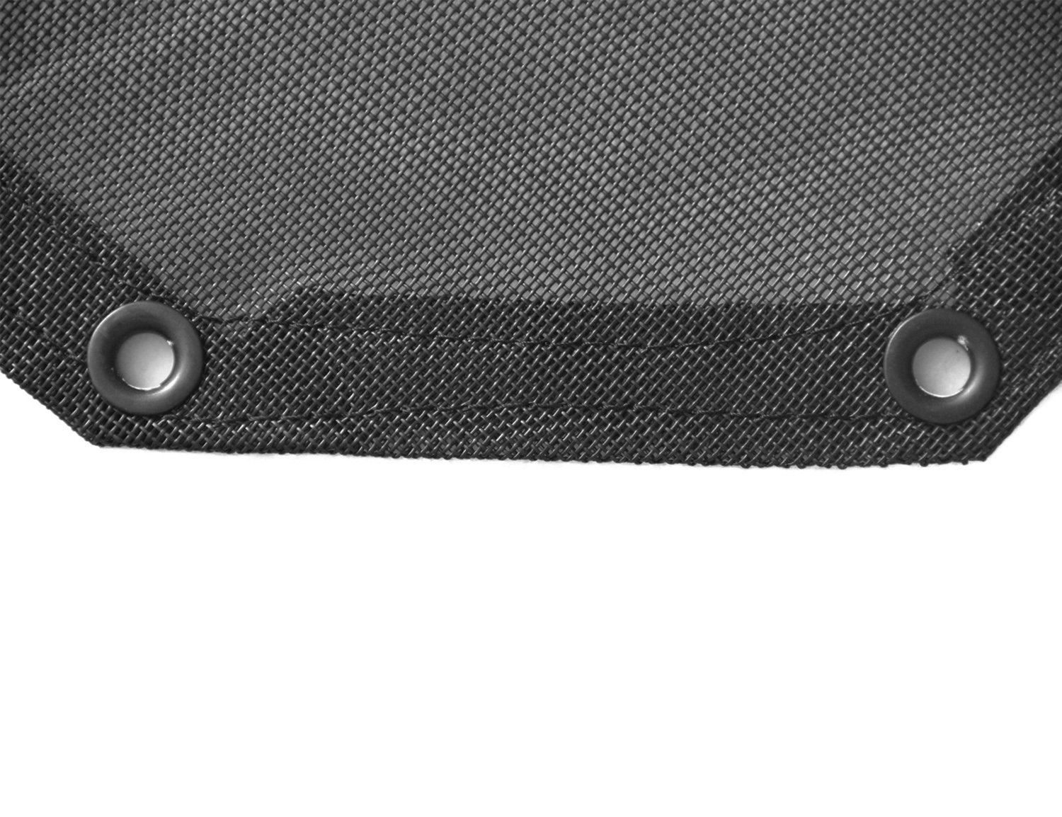 MOEBULB Eclipse Sunshade UV Protection Top Mesh Cover Sun Shade for Jeep Wrangler JK 2007-2018 4-Door, with Logo