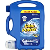 Cold Power Regular Complete Action, Liquid Laundry Detergent, Value Pack, 80 washloads, 4 liters