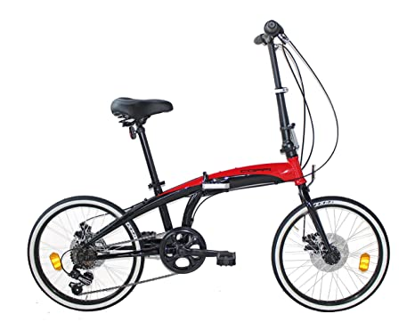 Fausto Coppi RP1X20206D.NR Bicicleta, Unisex Adulto, Rojo, 29 ...