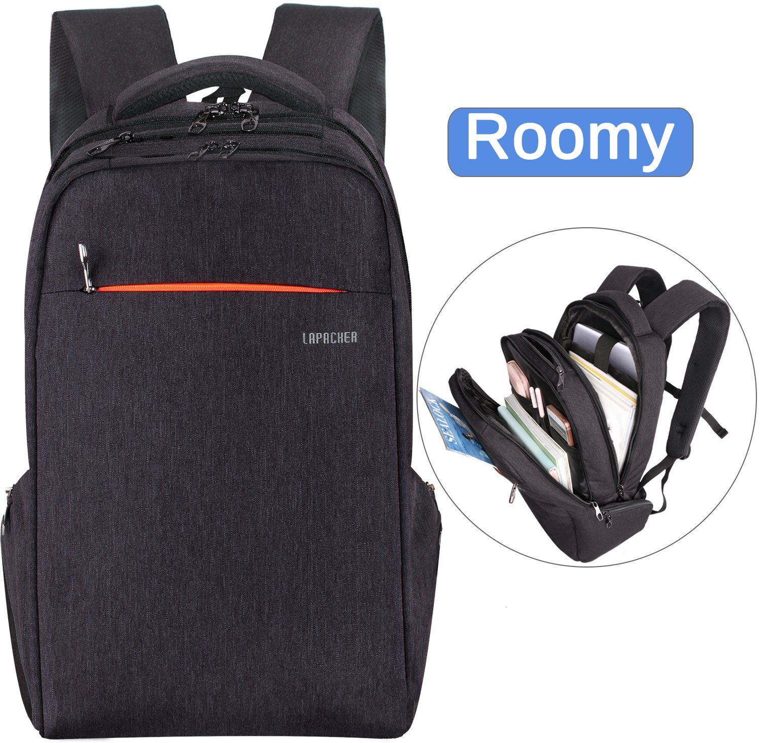 low priced f18e3 7bb18 Speck Business Travel Laptop Backpack | Sabis Bulldog Athletics