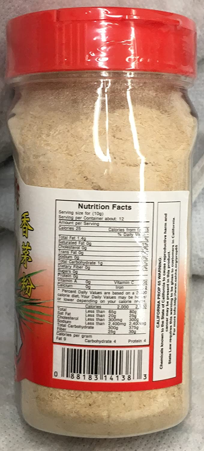 Amazon.com : 3.5oz Fortuna Lemongrass Powder with Salt (Bot Sa), Pack of 1 : Grocery & Gourmet Food