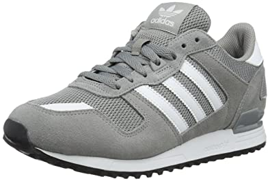 huge selection of 2a656 479f9 adidas ZX 700, Baskets Basses Homme, Gris (Ch Solid GreyFTWR White