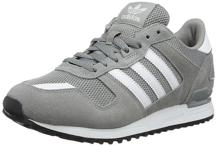 9cf8d1307a9c9 adidas ZX 700, Baskets Basses Homme, Gris (Ch Solid Grey/FTWR White/Core  Black), 49 1/3 EU: Amazon.fr: Chaussures et Sacs