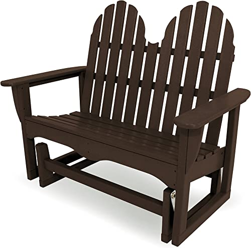Hillary Outdoor Rustic Acacia Wood Folding Adirondack Chair Set of 2 , Dark Gray