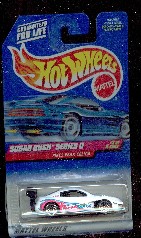 1999 Hot Wheels Sugar Rush Series II Pikes Peak Celica #971