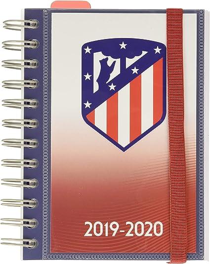Agenda escolar 2019/2020 día página S Atletico De Madrid: Amazon ...