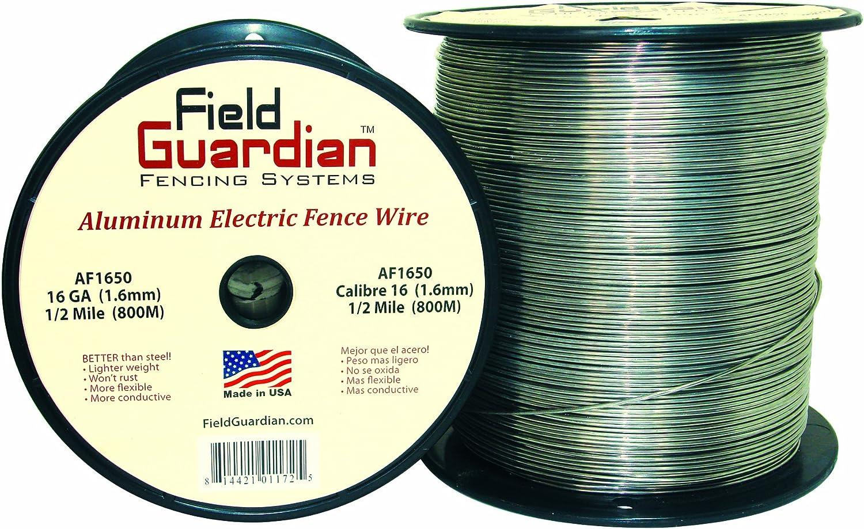 Amazon.com: Field Guardian 16-Guage Aluminum Wire, 1/2 Miles: Pet Supplies