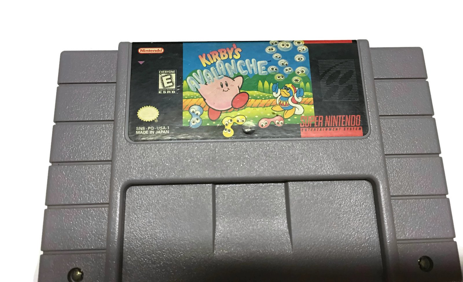 Amazon Com Kirby S Avalanche Video Games