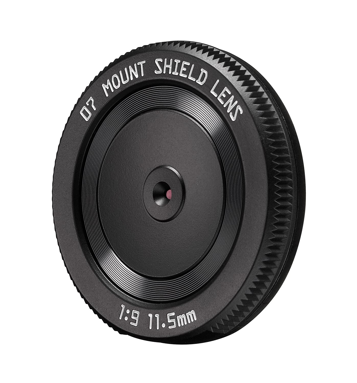 Pentax 07 11.5mm f/9 Mount Shield Lens (53mm - 35mm equivalent), for Q-Series Cameras 22267