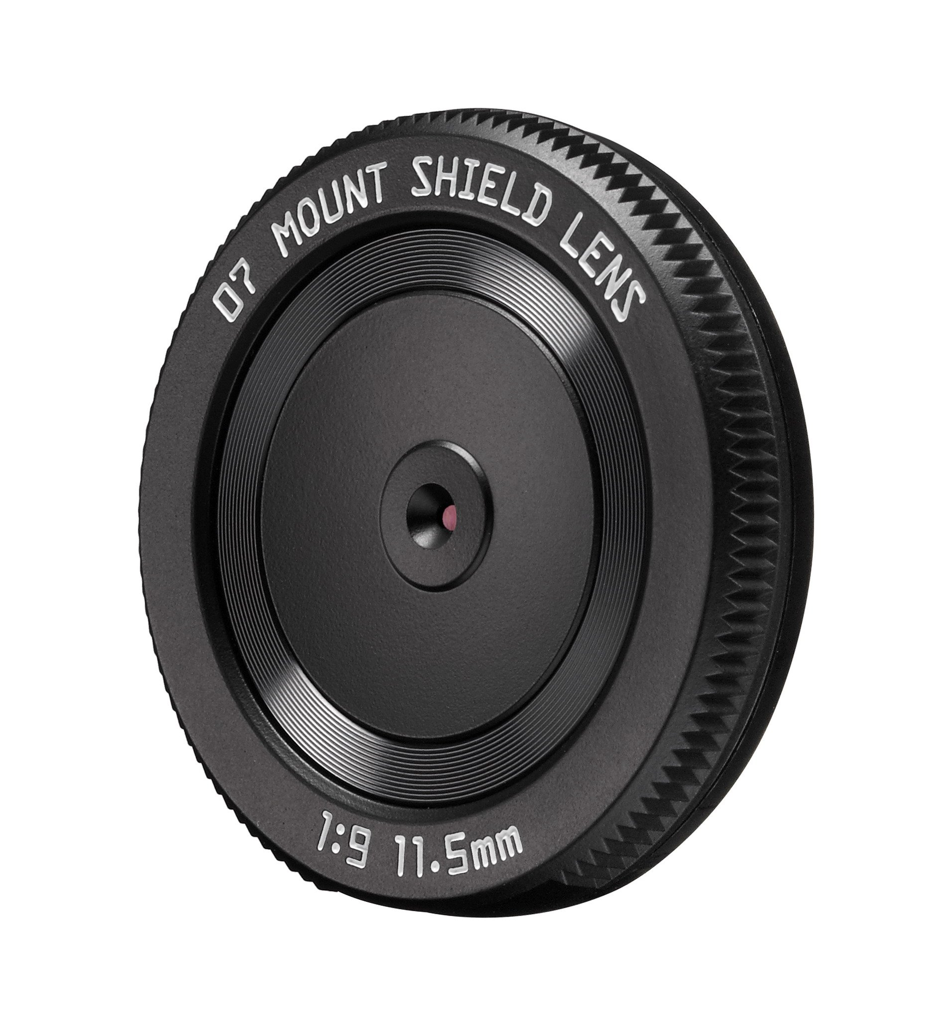 Pentax 07 11.5mm f/9 Mount Shield Lens (53mm - 35mm equivalent), for Q-Series Cameras by Pentax
