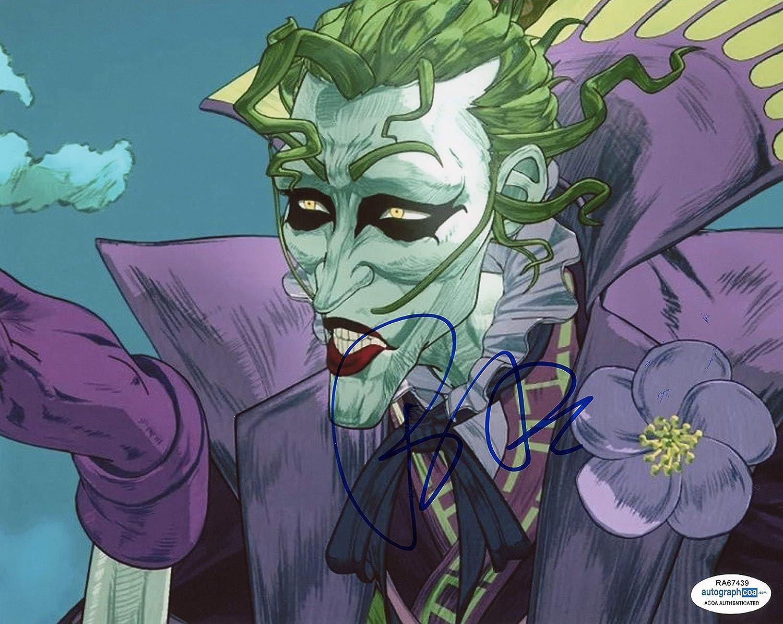 Tony Hale Batman Ninja Autograph The Joker Signed 8x10 Photo B Acoa At Amazon S Entertainment Collectibles Store