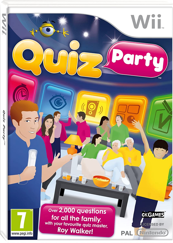 Quiz Party (Nintendo Wii) [Importación inglesa]: Amazon.es: Videojuegos