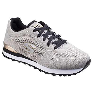 26be07ad326a Skechers Womens Ladies Retro OG 85 Lower Flyer Trainers (3 UK) (Taupe