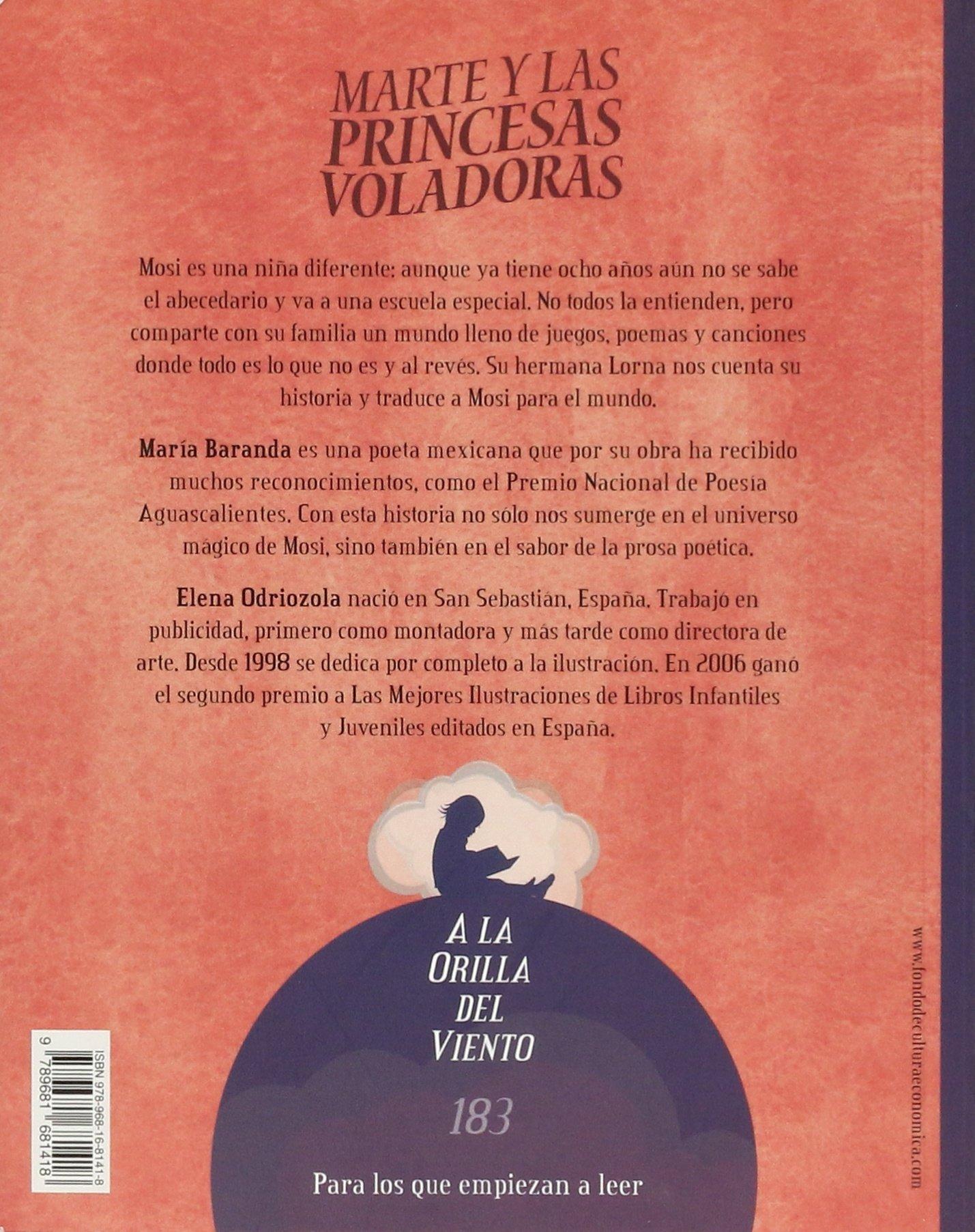 MARTE Y LAS PRINCESAS VOLADORAS A La Orilla Del Viento: Amazon.es: Maria Baranda: Libros