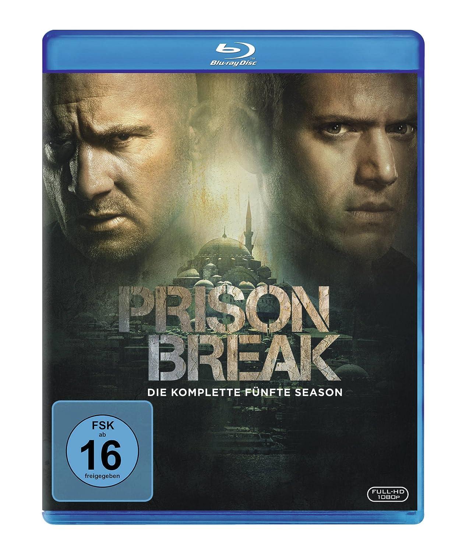 Prison Break Die Komplette Season 5 Blu Ray Amazonde Dominic