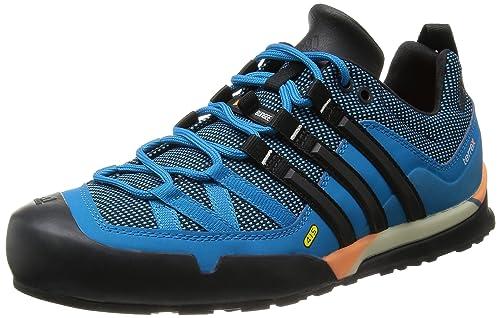 online retailer 5a87f fa4e3 Adidas Terrex Solo, Zapatillas de Senderismo para Hombre, Dark Blue  SBlackSolar Zest, 43.3333333333 EU Amazon.es Zapatos y complementos