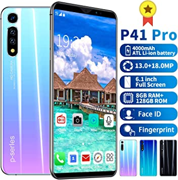 MeterMall P41Pro - M¨®vil de Pantalla Grande para Smartphone ...