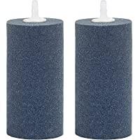 Pawfly 2 PCS Large Air Stones Cylinder for Ponds, Aquarium or Fish Tank, Air Stone Diffuser Produces Fine Bubbles