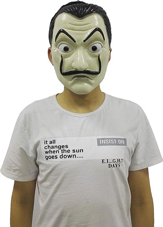 JiangKai Máscara de Salvador Dalí La Casa De Papel Disfraz ...