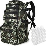 Lixada Fishing Tackle Backpack Multifunctional Fishing Tackle Utility Bag Large Waterproof Tackle Bag Storage with 4…