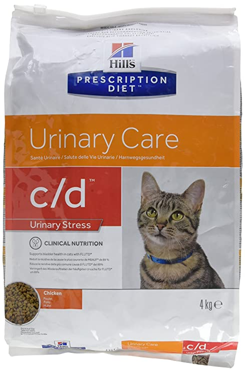 Hills HPD Feline C/D Urinary Stress - 4 kg: Amazon.es: Productos ...