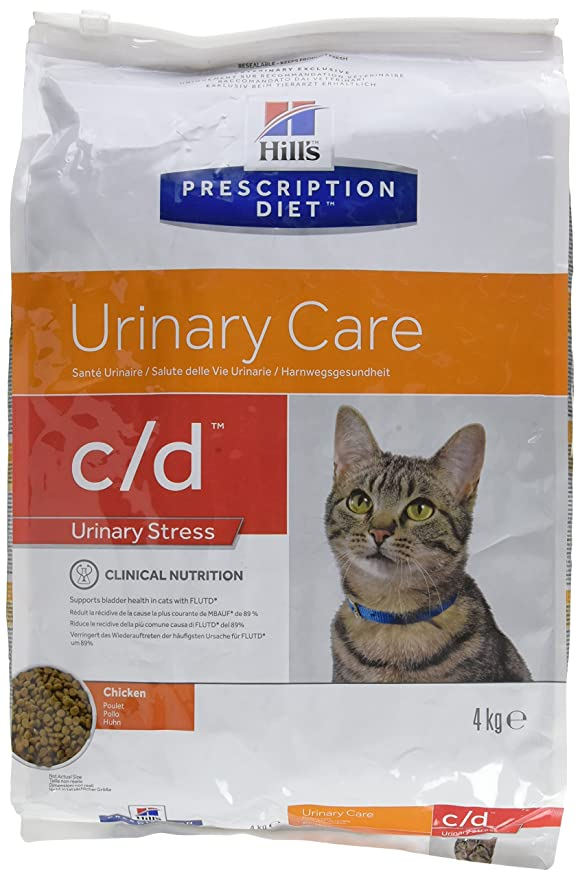 Hills HPD Feline C/D Urinary Stress - 8 kg: Amazon.es: Productos para mascotas