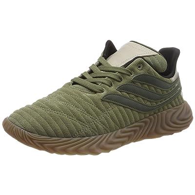 adidas Originals Sobakov Shoes 11.5 B(M) US Women / 10.5 D(M) US Raw Khaki Night Cargo Light Brown | Fashion Sneakers