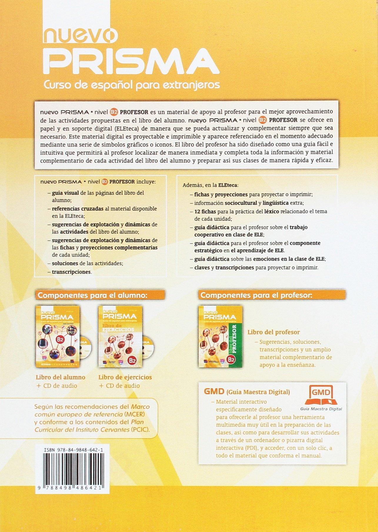 Nuevo Prisma B2: Tutor Book: Curso de Espanol Para ...