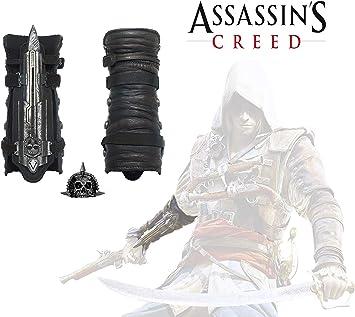 Amazon.com: acrim Toys Assassins Creed IV 4 Negro Bandera ...