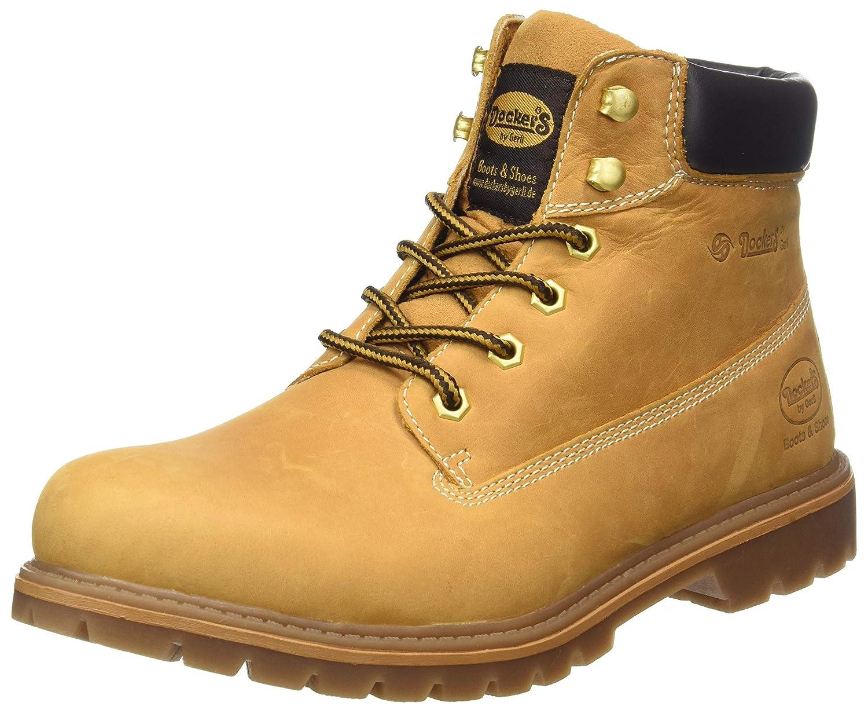 Dockers 35ca001, Botas Militar para Hombre, Amarillo (Golden Tan 910), 42 EU