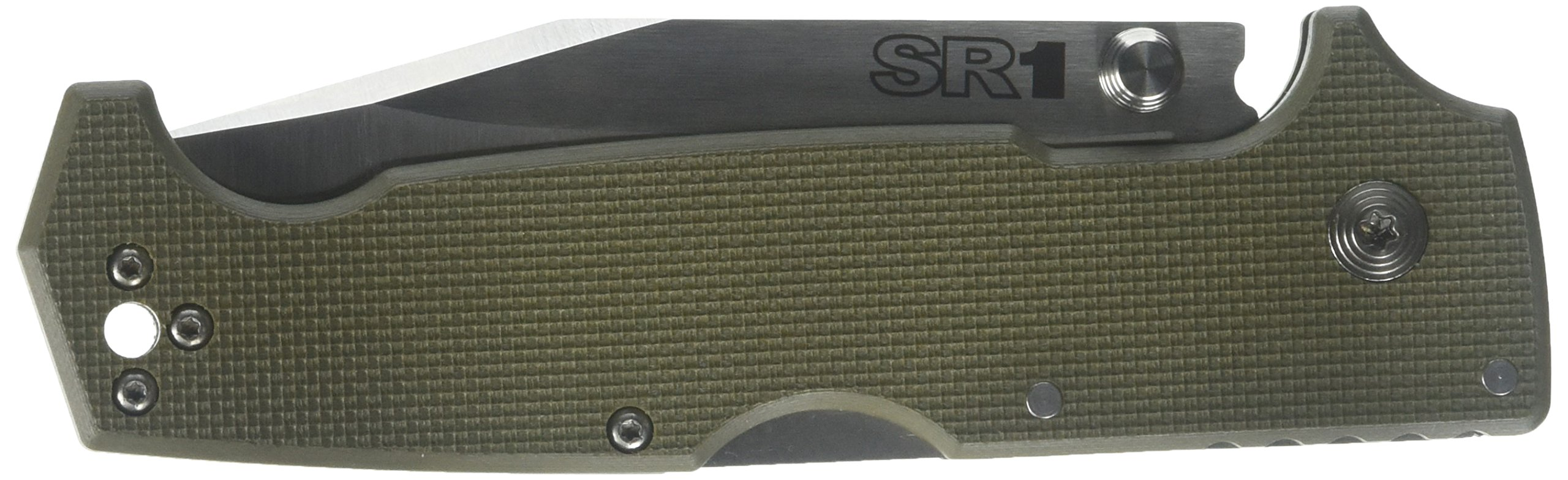 Cold Steel SR1 Knife, OD Green, 4-1/2'' by Cold Steel
