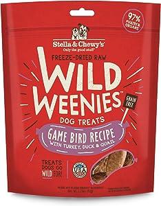 Stella & Chewy's Freeze Dried Raw Wild Weenies Dog Treats