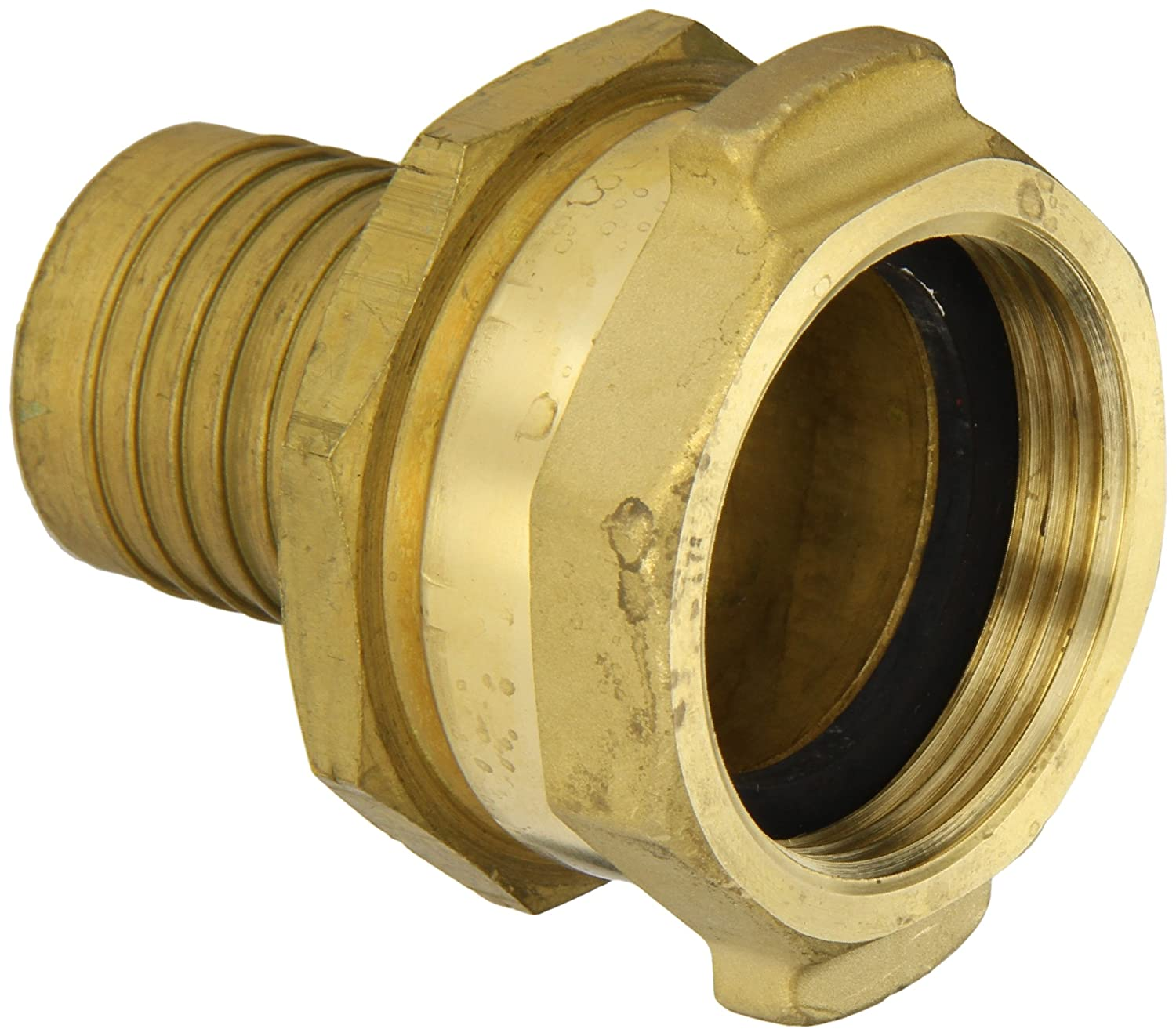 1-3//8 NPSH Female x 1-3//8 Hose ID Barbed 1-3//8 NPSH Female x 1-3//8 Hose ID Barbed Dixon Valve /& Coupling Dixon H5271-BU Brass Scovill Style Holedall Fitting Internally Expanded Permanent Coupling