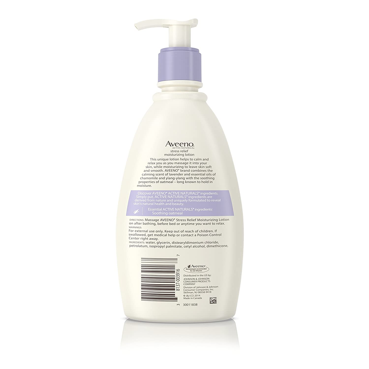 Amazon.com: Aveeno Stress Relief Moisturizing Lotion To Calm And ...