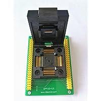 allsocket QFP100–0.5QFP100TQFP100QFP100a dip100programación adaptador otq-100–0.5–090.5mm Pitch 14x 14mm