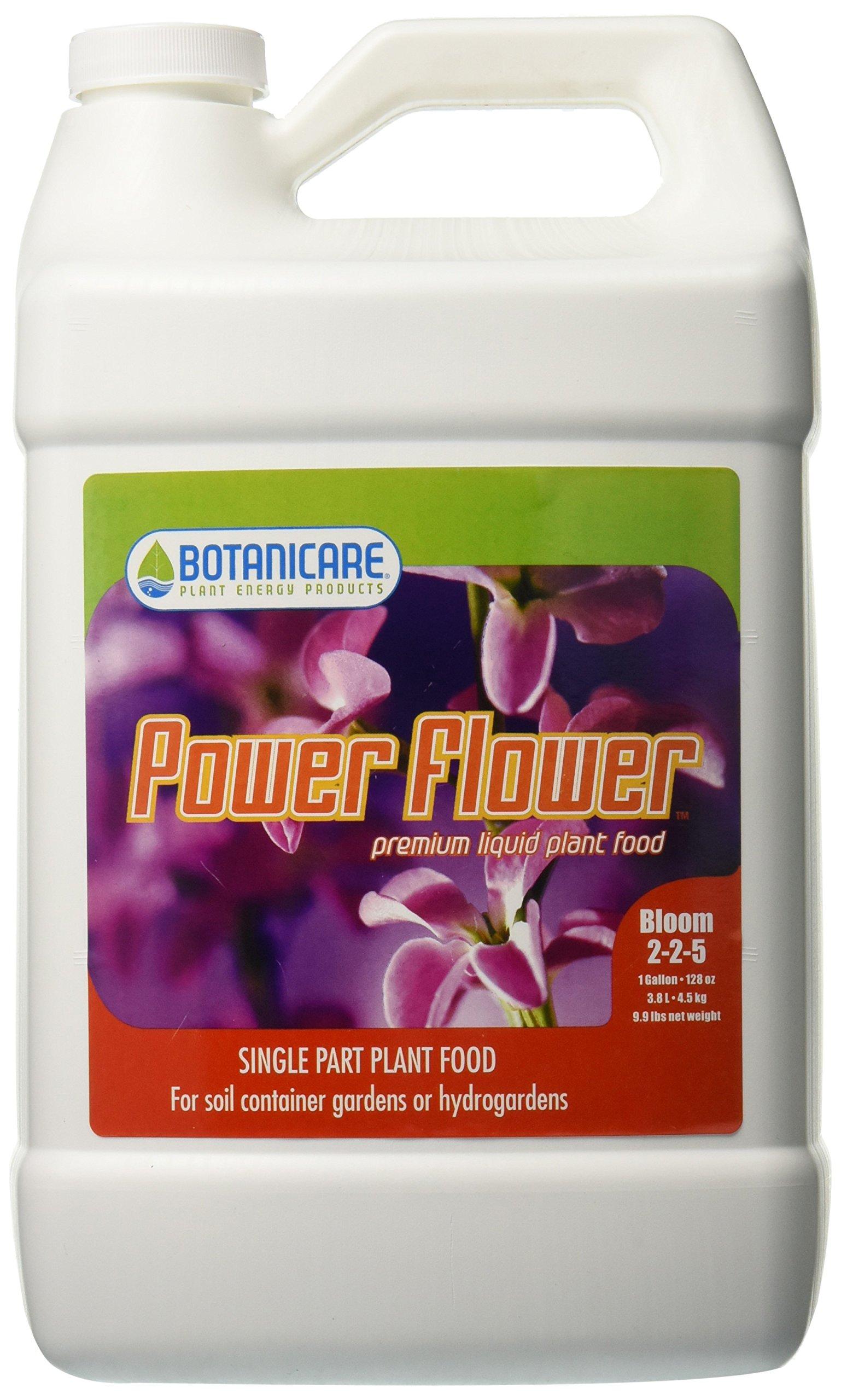 Botanicare BCPFGAL 1-Gallon Power Flower Plant Food, 2-2-5