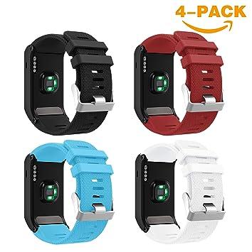 YaYuu Garmin Vivoactive HR Correa de Reloj,Reemplazo de Banda de Silicona Suave para Garmin Vivoactive HR Sports GPS Smart Watch: Amazon.es: Deportes y aire ...