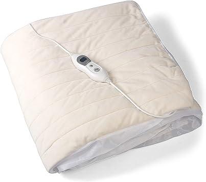 Vidabelle Manta Eléctrica Deluxe para Cama 90 x 200 con 6 Niveles de Temperatura – Manta Térmica Acolchada con Apagado Automático – Rápido Calentamiento: Amazon.es: Salud y cuidado personal