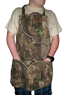 Amazon.com : Rivers Edge Products Set Apron and Mitt, Camouflage ...