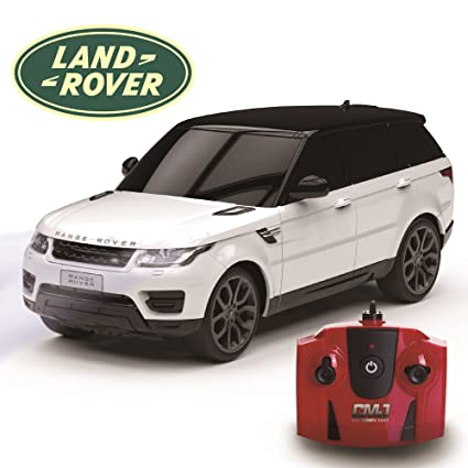 Toy Cars That You Can Drive >> Official Rc Radio Remote Controlled Car Scale 1 24 Range Rover Sport White