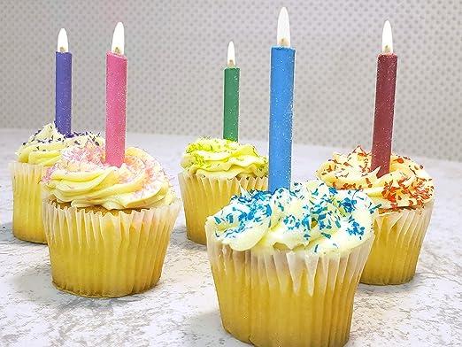 Chef Antoine - Velas comestibles de cumpleaños: Amazon.com ...