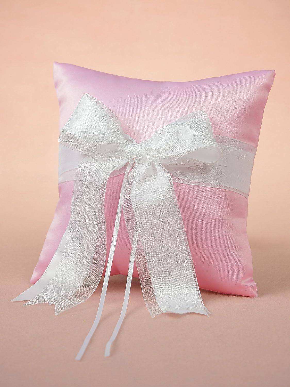 Remedios Ribbon Bowknot Variety Colors Satin Wedding Ring Pillow ...